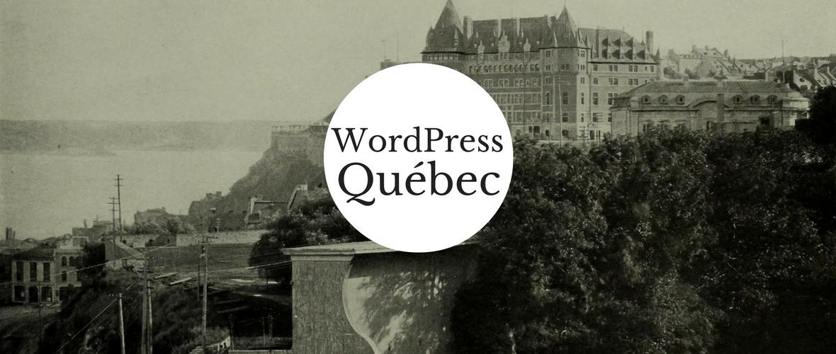 WordPress Québec logo