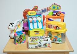 Des jouets vendus chez Réno-Jouets